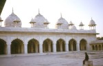 Red Fort in Agra - India (Pearl Mosque)