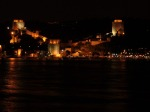 Rumeli Hisari Fortress in Istanbul (night)