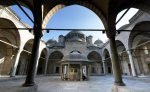 Sehzade Mosque in Istanbul - Turkey (courtyard)